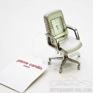 Мини часовник - офис стол Pierre Cardin