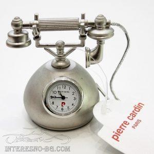 Мини часовник - телефон Pierre Cardin