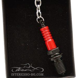 ключодържател - автомобилна свещ