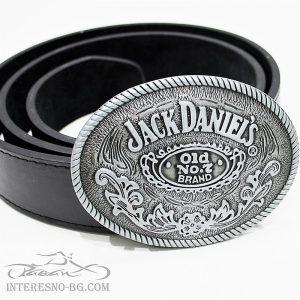 Jack Daniel's – колан с изкуствена кожа