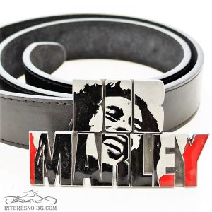 Bob Marley – колан с изкуствена кожа