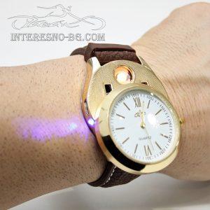 Часовник с USB запалка