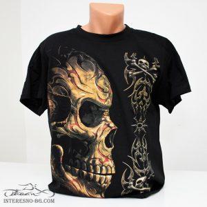 Череп с татуировки-тениска
