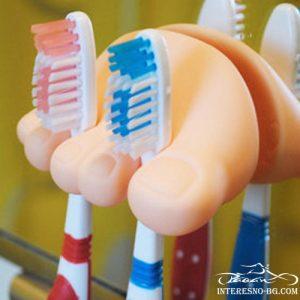 Забавна поставка за четка за зъби КРАЧЕ