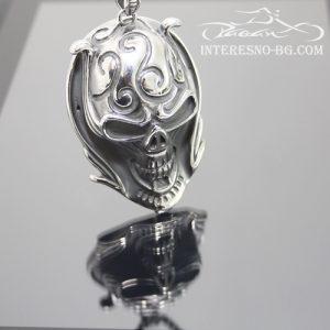 Череп-стилен подарък от неръждаема стомана за истински мъже