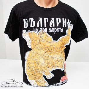 България на 3 морета-тениска