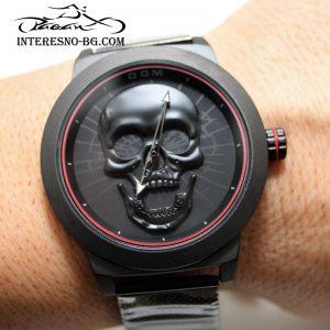 мъжки часовник с череп