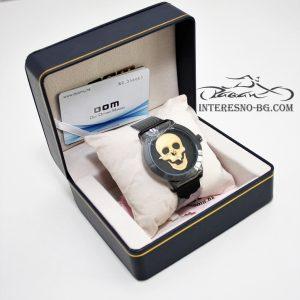Екстравагантен луксозен, кварцов часовник- чудесен подарък за вашите близки.