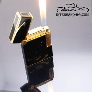 Елегантна презареждаща се газова запалка .