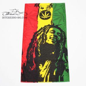 Мултифункционална кърпа за глава-Bob Marley