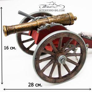 Настолна запалка Топ-интересен подарък за всички любители на оръжията.