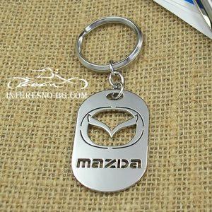 Ключодържател Мазда-изработен от висококачествена неръждаема стомана.