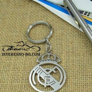 Ключодържател Реал Мадрид-изработен от висококачествена медицинска стомана.