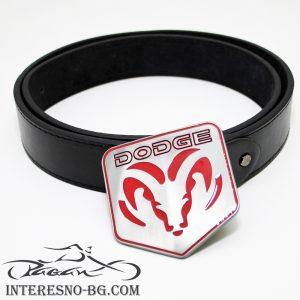DODGE-оригинален подарък колан за фенове на марката.