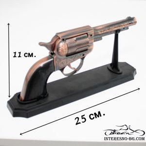 Настолна ветроустойчива запалка револвер.