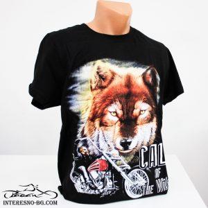 Памучна тениска Вълк -един чудесен подарък за вашите любими хора.