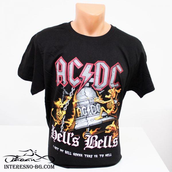 Памучна тениска AC/DC-чудесен подарък за феновете на rock музиката.