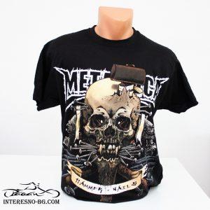 Памучна тениска METALLICA-чудесен подарък за феновете на rock музиката.