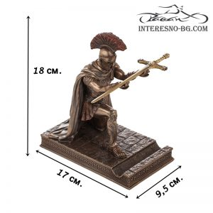 Луксозна статуетка-Римски командир