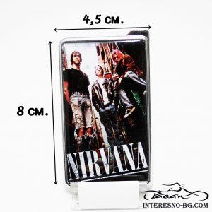 NIRVANA-оригинален подарък за феновете на музиката.