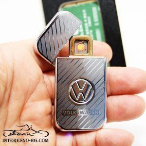 Атрактивна USB запалка VW-чудесен подарък за вашите близки.