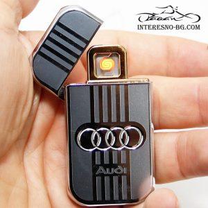 Атрактивна USB запалка AUDI-чудесен подарък за вашите близки.