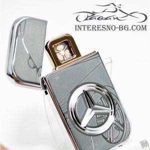 Атрактивна USB запалка Mercedes-чудесен подарък за вашите близки.