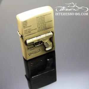 Бензинова запалка-пистолет WALTHER е един изключително подходящ подарък за любителите на мотори.