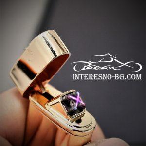 Втроустойчивата, луксозна, плазмена запалка е един чудесен подарък за любимите ви хора.