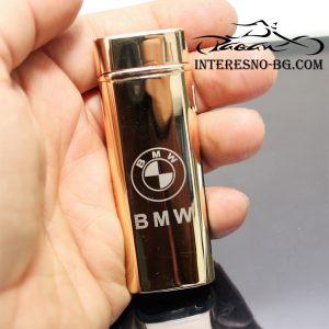 Луксозна, плазмена запалка BMW- един чудесен подарък за феновете на марката.