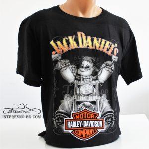 Jack Daniel's-тениска 100% памук.