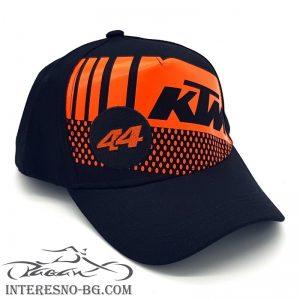 Шапка с козирка KTM-страхотен подарък за мотористи.