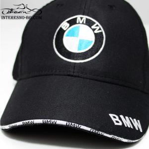 Шапка с козирка BMW