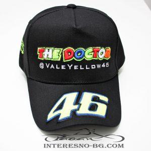 Шапка с козирка 46 The Doctor - Valentino Rossi