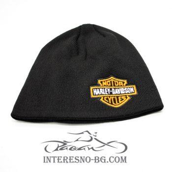 Зимна плетена шапка Harley Davidson