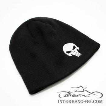 Зимна плетена шапка PUNISHER