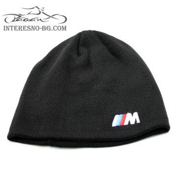 Зимна плетена шапка BMW M