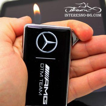 Тънка, метална запалка Mercedes AMG